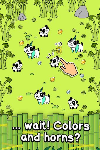 Panda Evolution - Cute Bear Making Clicker Game apklade screenshots 2