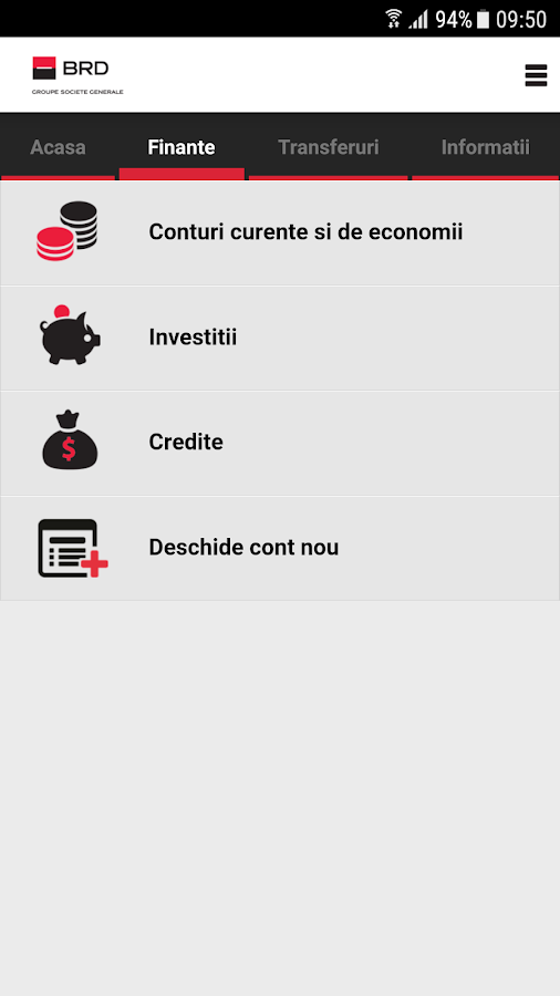 MyBRD Mobile- screenshot