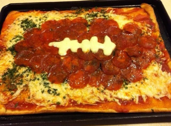 Easy Football Pizza Recipe