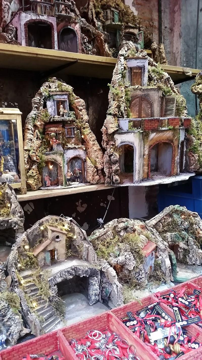 Presepi intagliati nel legno di Marinazu