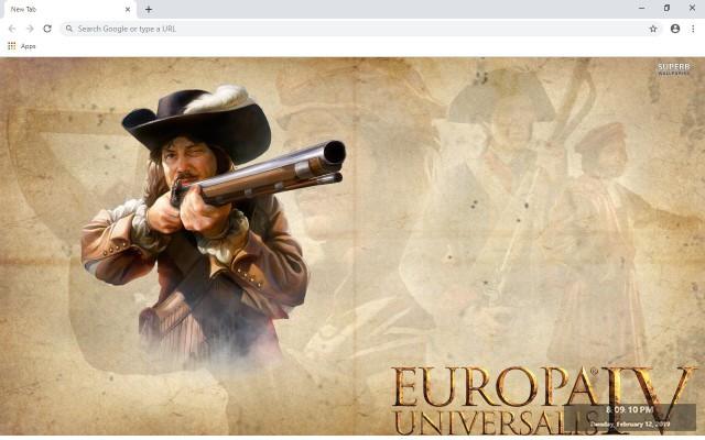 Europa Universalis IV New Tab