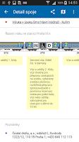 Screenshot of Jízdní řády IDOS