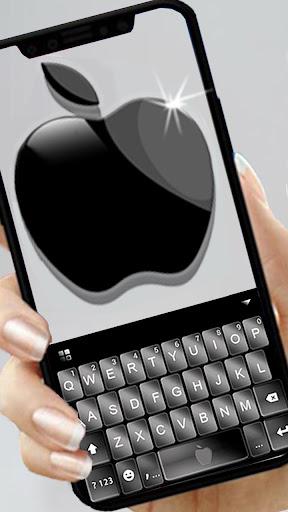Space Gray Black Apple Keyboard -Phone 8 Plus,OS11 1.0 screenshots 1
