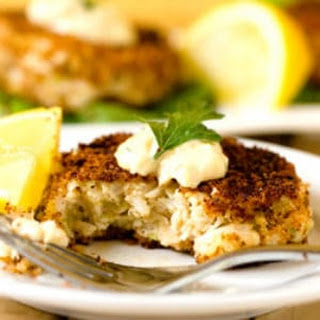Crab Cakes with Rémoulade Sauce.