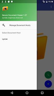 Secure document reader - náhled