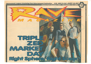 Photo: 1994 Oct - Rave - Sphere on Cover