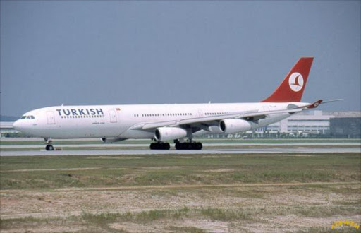 Turkish airline. File photo