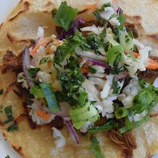 Crock Pot Korean Pork Tacos |.