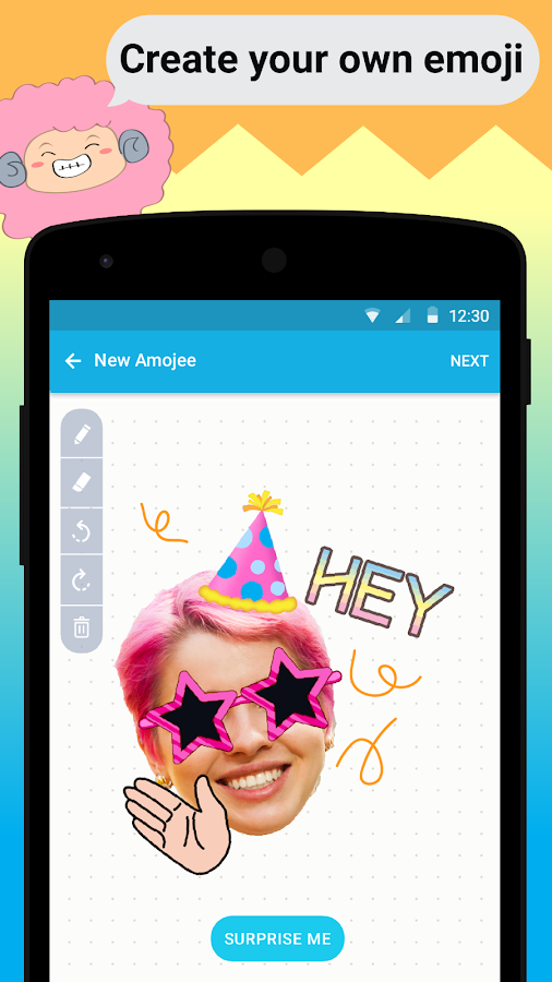 Amojee- emoji chat & messenger- screenshot