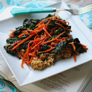 Carrot And Kale Stir-fry