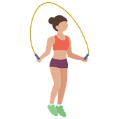 Jump Rope Counter + Calories