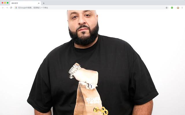 DJ Khaled Pop Star HD New Tabs Themes