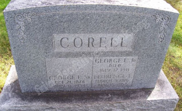 Photo: Correll, George E. Jr., George E. Sr. and Florence E.