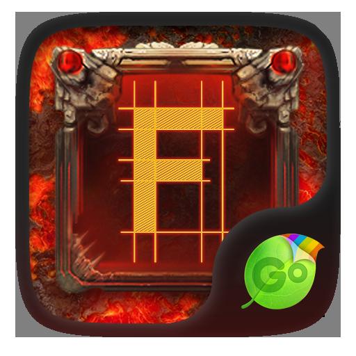 Fire & Stone GO Keyboard Theme