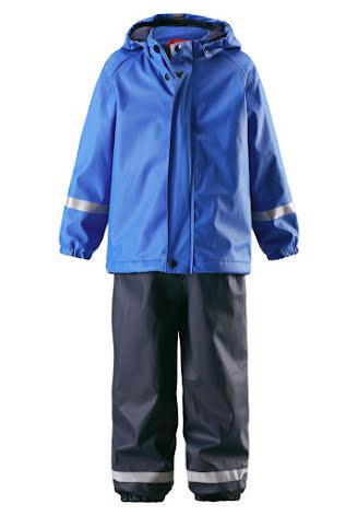 Reima Joki 523108-6530 Blue regnsett m/fleecefór