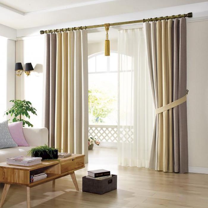 Rèm vải thường có độ bền cao