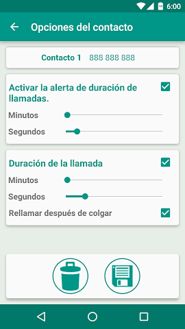 android CorteRellamada Screenshot 2
