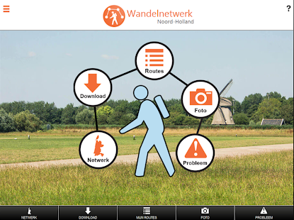Wandelnetwerk Noord-Holland- screenshot thumbnail