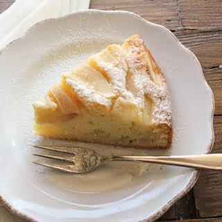 Pear Cake.