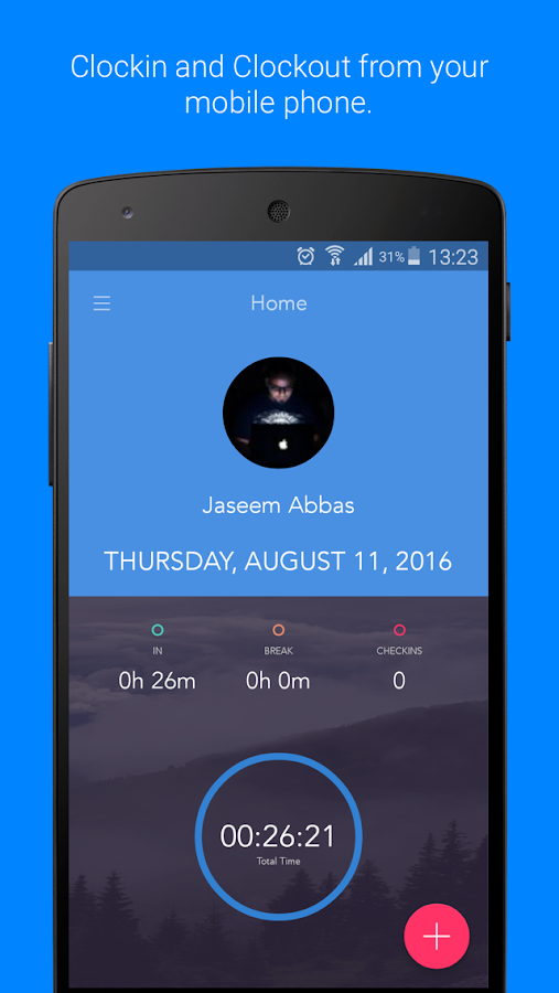 ClockIt - Time & Attendance- screenshot