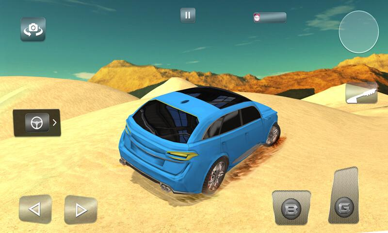 Offroad Luxury Desert Safari- screenshot