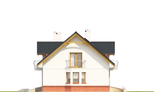 Dom Dla Ciebie 1 w4 z garażem 1-st. A - Elewacja lewa