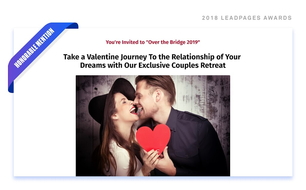 intimate couples retreat hero image