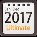 Calendar Widget 2017 Ultimate icon