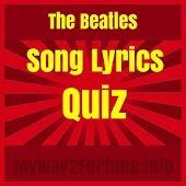The Beatles Song Lyrics Quiz
