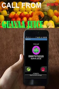 Fake Call Guavaa Juice - náhled