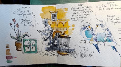 JEANNE PAPA_carnet de voyage aquarelle _ NAPLES 2018