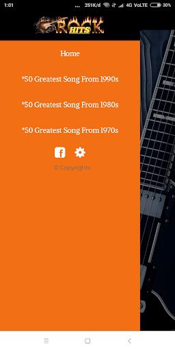 70s 80s 90s Rock Music Hits screenshot 3
