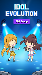 IDOL Evolution – Idol Girls Apk Mod (Dinheiro Infinito + Diamantes) 2