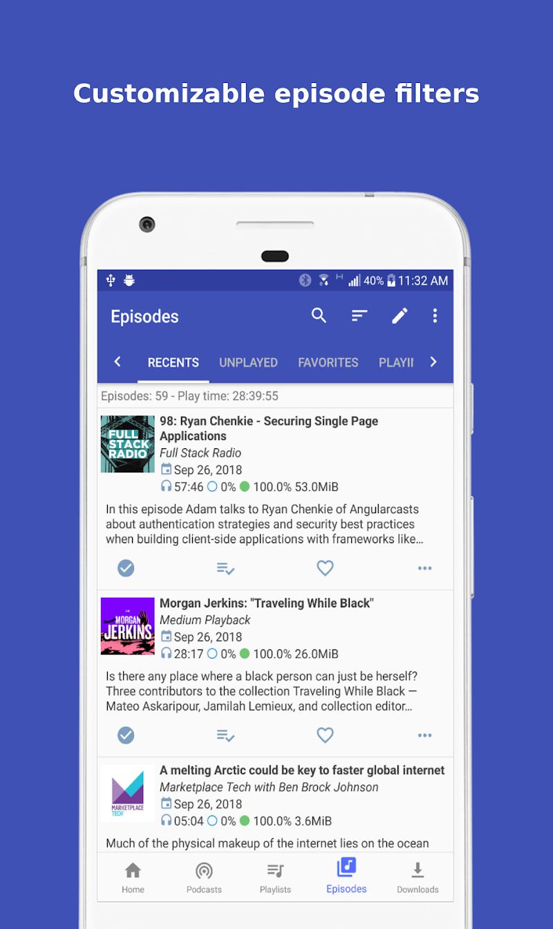 Podcast Republic - Podcast and Radio Player App Screenshot 5