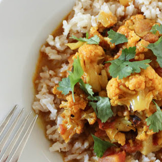 Coconut Curry With Cauliflower [Vegan]