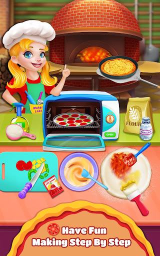 Sweet Pizza Shop - Cooking Fun