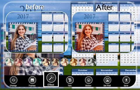 Calendar Photo Frames - náhled