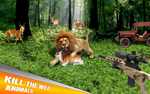 Animal Hunting:Jeep Drive Simulator 1.0.1 {cheat|hack|gameplay|apk mod|resources generator} 3