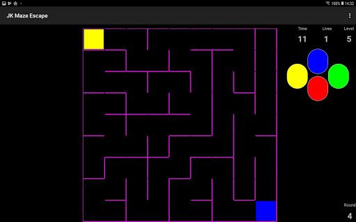 Télécharger JK Maze Escape mod apk screenshots 5