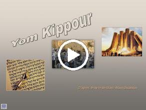 Video: Yom kippour