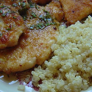Chicken Breasts with Lime Sauce.