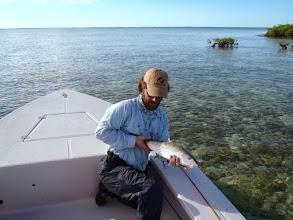 Photo: Success!- Andros Island Bonefish Club- November 2010