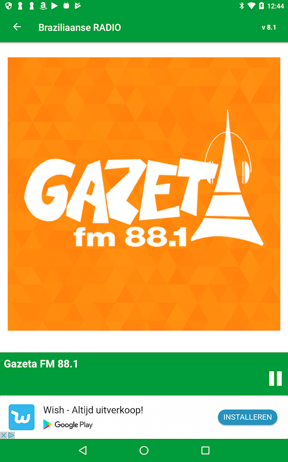 Brazilian RADIO- screenshot