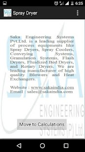 Spray Dryer SAKA screenshot