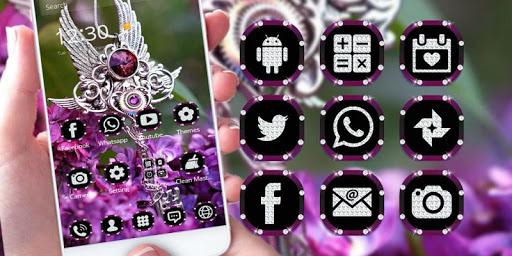 Purple Diamond Lavender Theme Screenshot