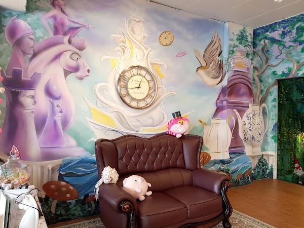 超夢幻台南下午茶 帶你走進愛麗絲的童話國度 森林饗宴-主題餐廳