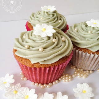 Earl Grey Tea Cupcakes.