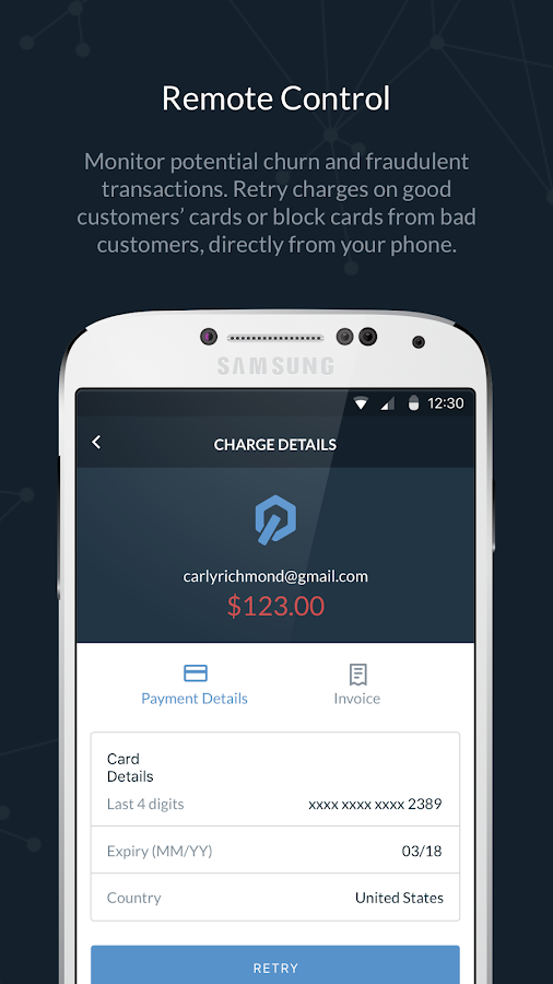 Control for Stripe & PayPal- screenshot
