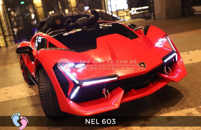 xe ô tô điện trẻ em Lamborghini NEL-603 6