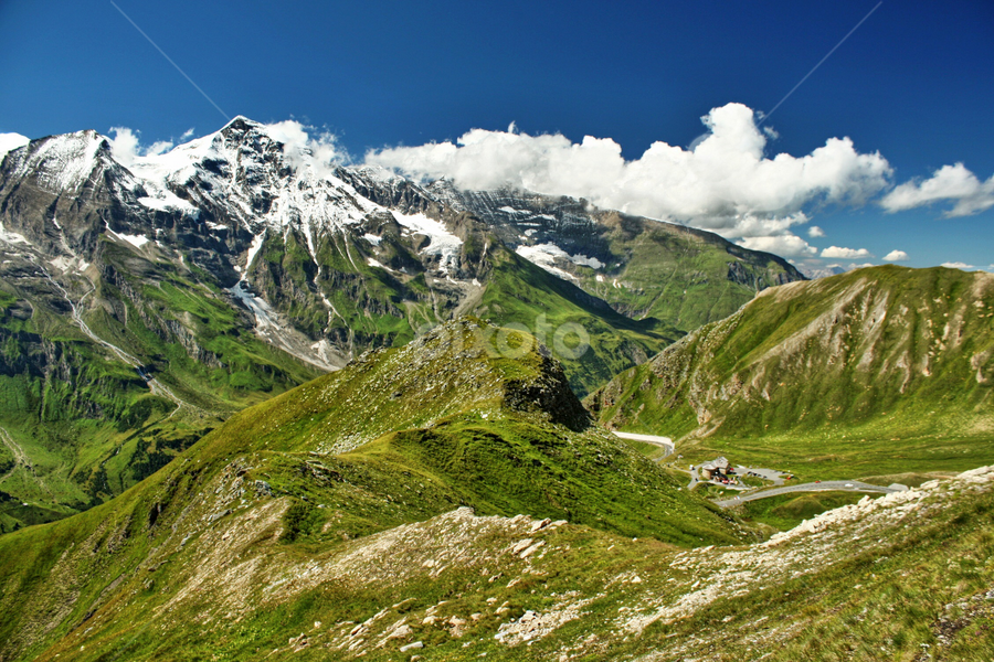 Grossglockner, Austria by Irena Brozova - Landscapes Mountains & Hills